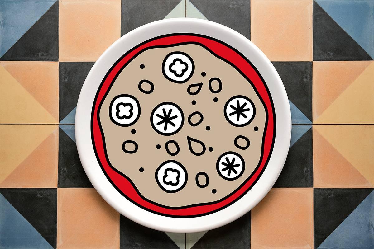 109.CREA TU PIZZIOSA ¡Hazte tu propia pizza!