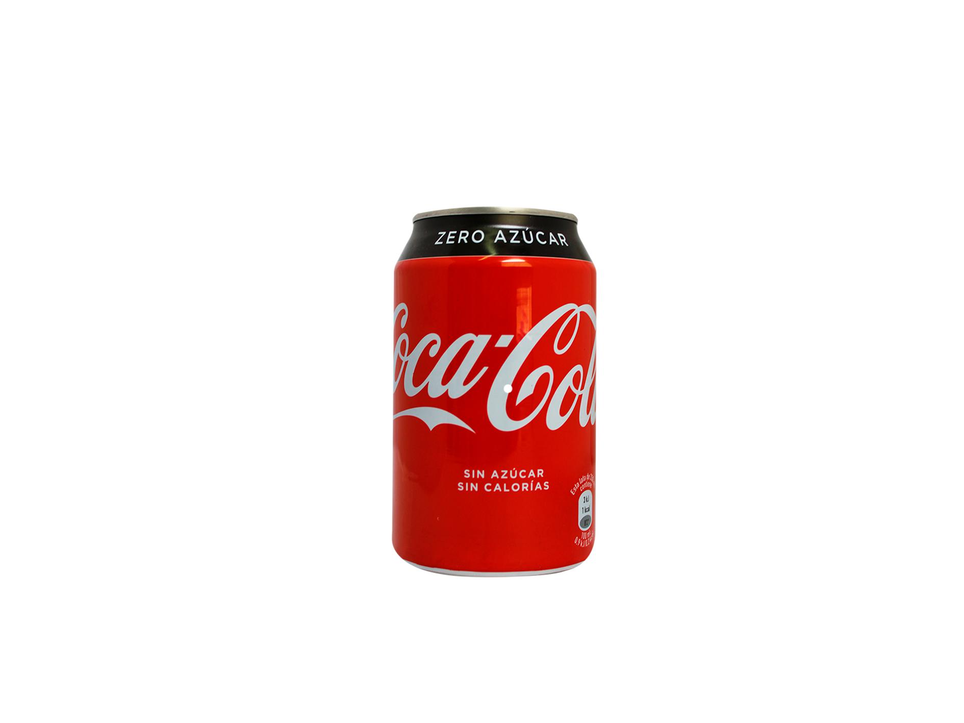 COCA COLA ZERO – LATA 33 CL