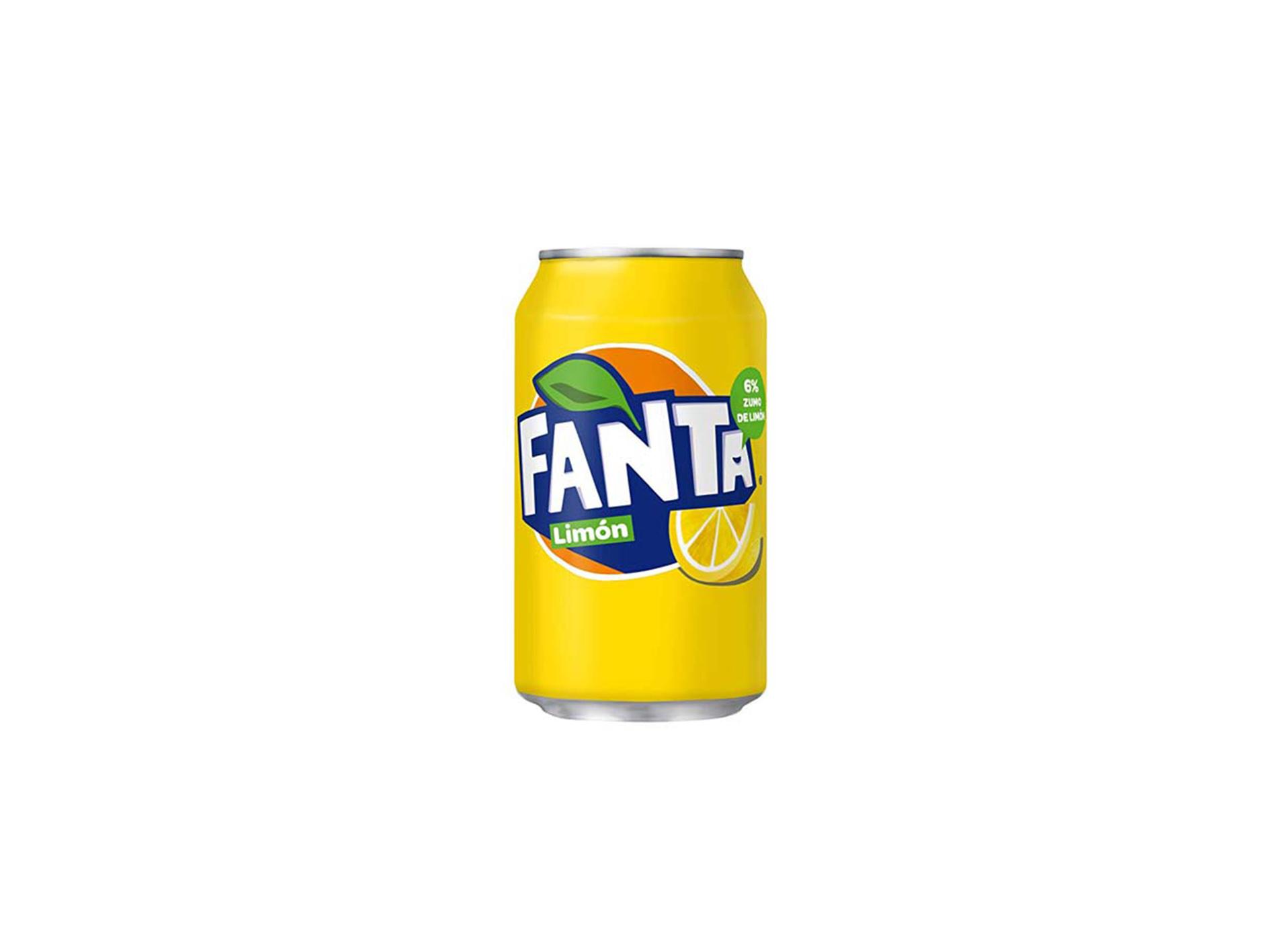 FANTA LIMÓN – LATA 33 CL